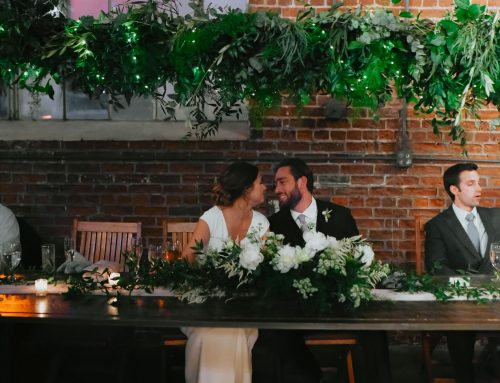 Overflowing Greenery Urban Wedding