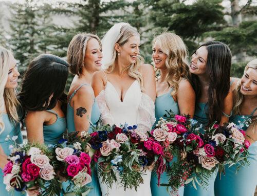 Modern Mountain Wedding in Vail Colorado
